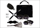Rianne S Kinky Me Softly bag with bondage accessories - Black
