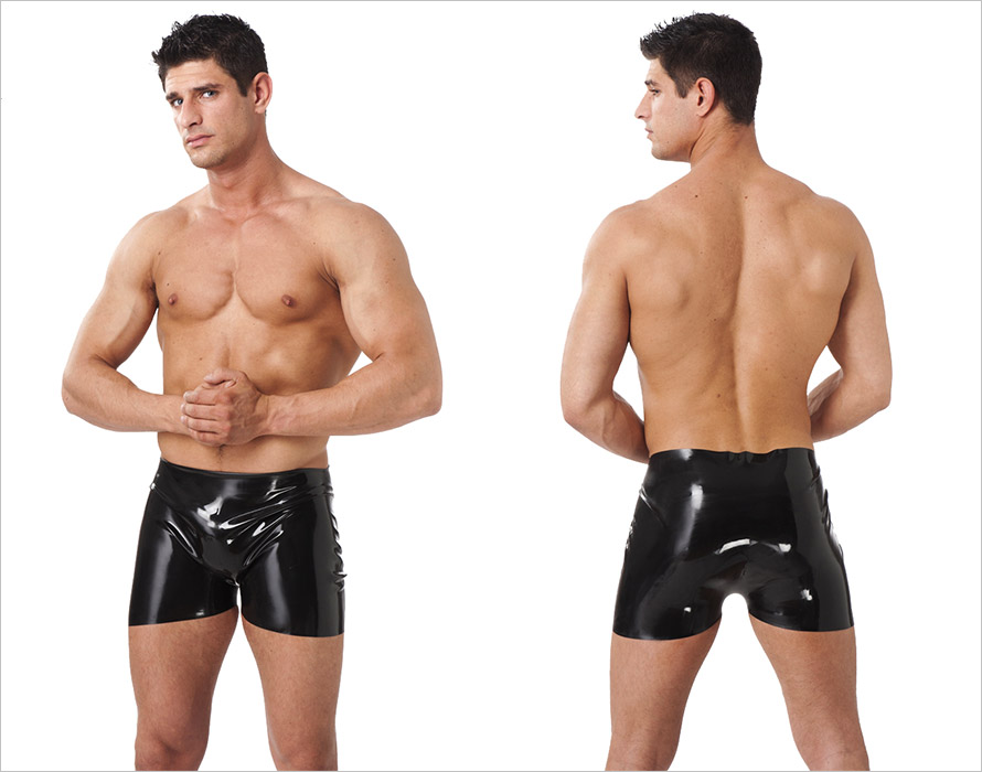 Rimba Latex Briefs for men - Black (L)