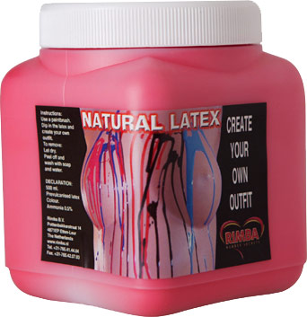 Natural Liquid latex - 450 ml (Red)