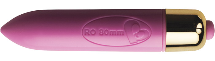 Rocks-Off RO-80mm Vibrator - Rosa