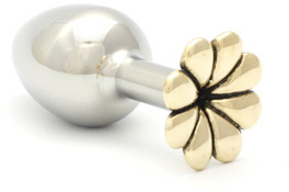 Rosebuds Flower Analplug - Bronze (M)
