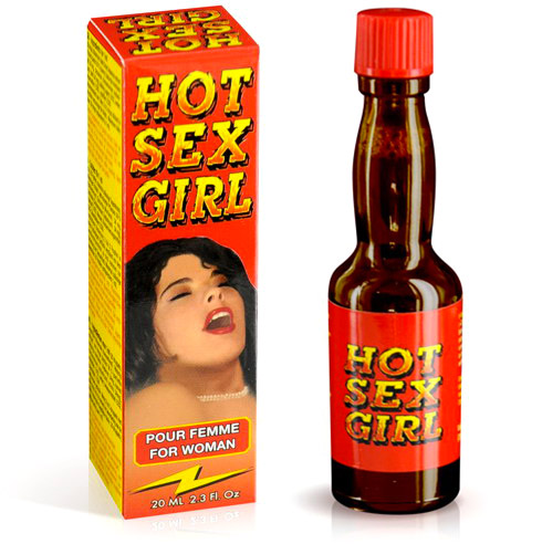 Hot Sex Girl sexual stimulant for women - 20 ml