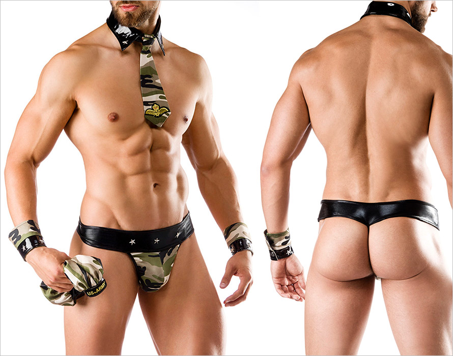 Saresia Sexy Soldier costume for men (S/L)