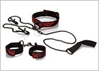 Scandal Submissive Kit Halsband, Leine, Nippelklemmen, ...