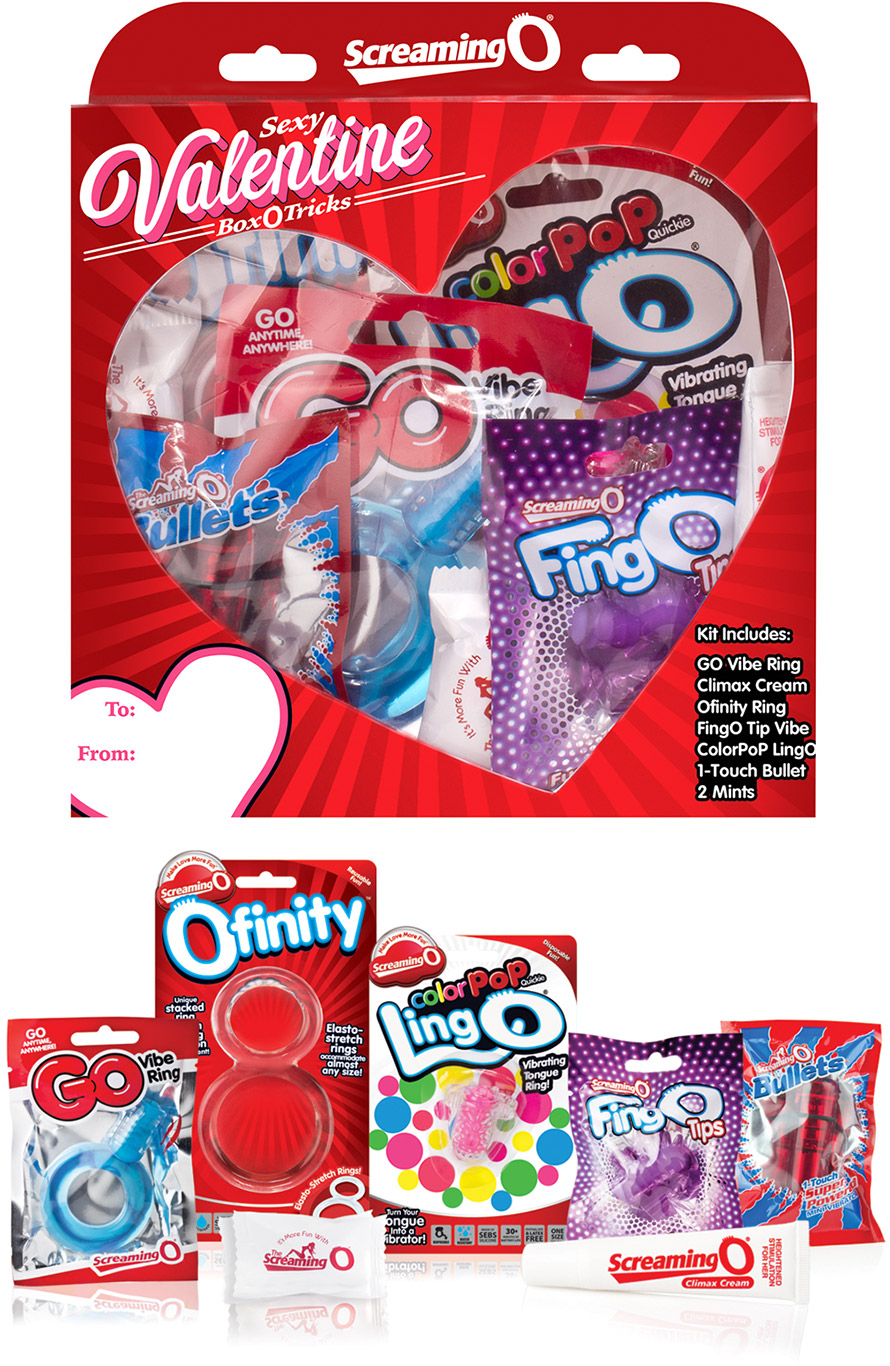 Screaming O St Valentine's Gift-Set (with naughty surprises)