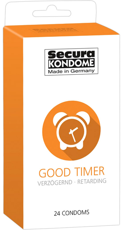 Secura Good Timer - Delaying condom (24 condoms)
