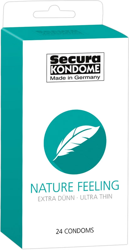 Secura Nature Feeling - Ultradünnes Kondom (24 Kondome)