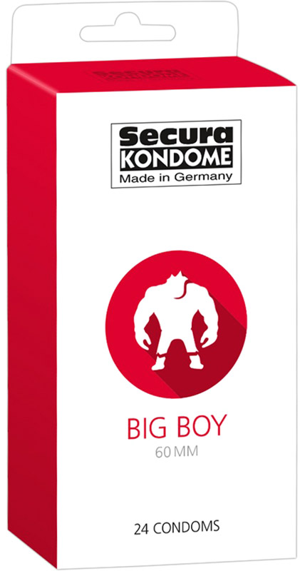 Secura Big Boy - Grosses Kondom (24 Kondome)