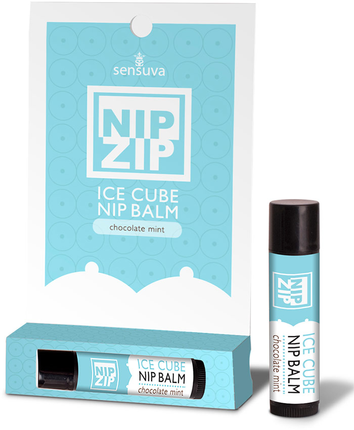Sensuva Nip Zip Nipple Stimulation Balm - Chocolate mint