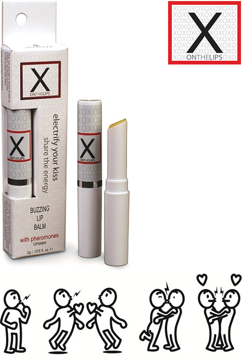 "Sensuva ""X On the Lips"" Kissing Balm (for him & her)"