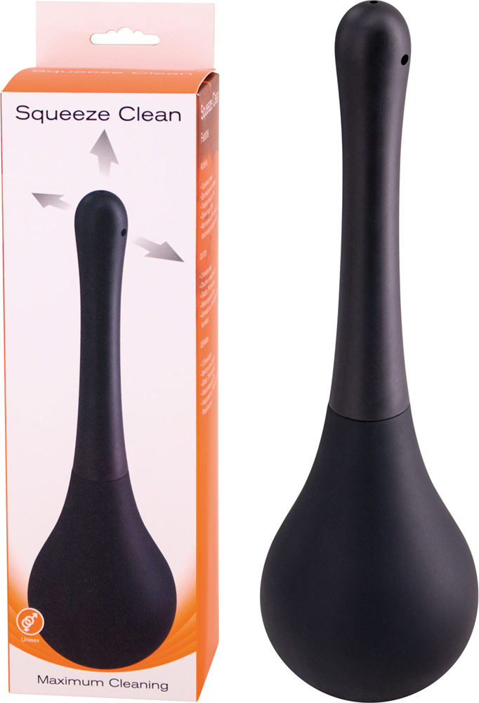 Squeeze Clean Whirling Spray - Unisex - Black