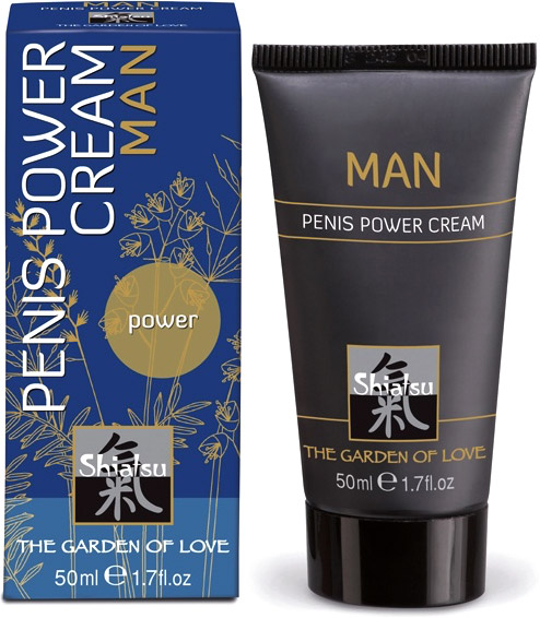 Shiatsu Penis Power Stimulationscreme - 50 ml