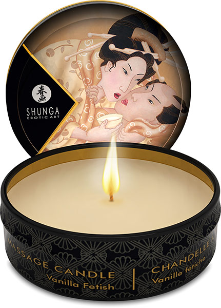 Shunga Desir Massage Candle - Vanilla Fetish - 30 ml
