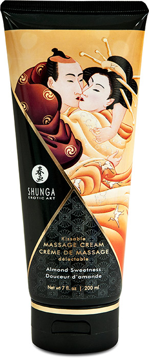 Shunga Kissable Massage Cream - Almond Sweetness