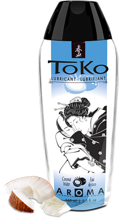 Shunga Toko Aroma Lubricant - Coconut Water (water-based)