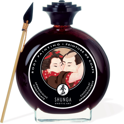 Shunga Body Painting - Chocolate