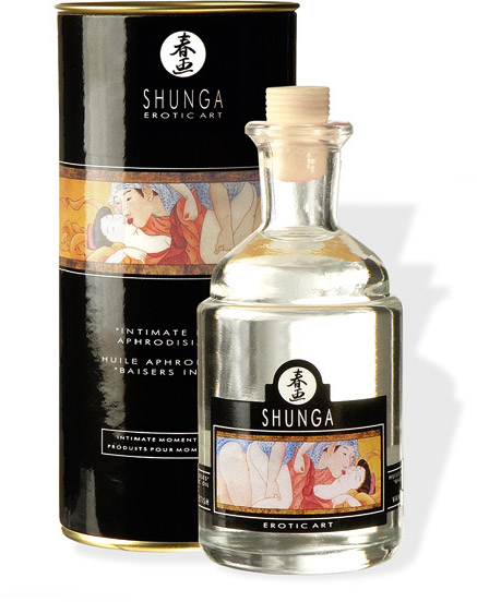 Shunga Intimate Kisses Massage Oil - Vanilla