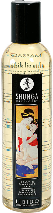 Shunga Libido Erotic Massage Oil - Exotic Fruits