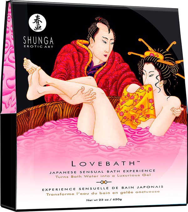 Shunga Lovebath - Japanese Bath Experience - Dragon Fruit