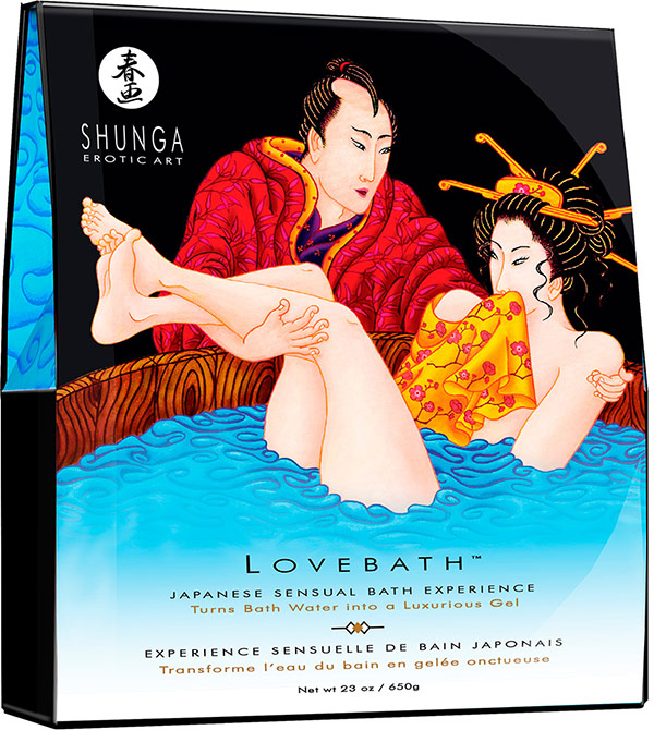 Shunga Lovebath - Japanisches Bad - Ocean Temptations