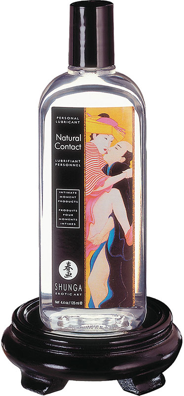 Shunga Natural Contact Gleitmittel - 125 ml (Wasserbasis)