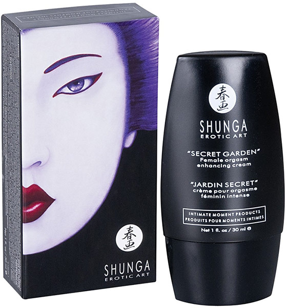 "Shunga ""Secret Garden"" Enhancing Cream (for her)"