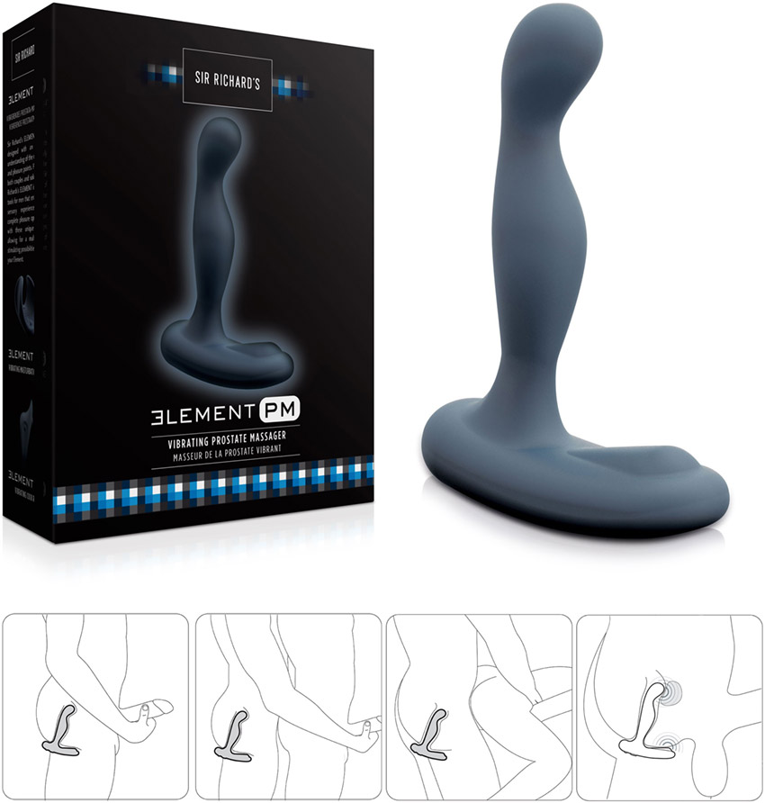 Sir Richard's Element PM vibrating prostate massager