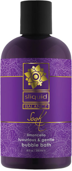 Sliquid Balance Soak Limoncello Badeschaum - 255 ml