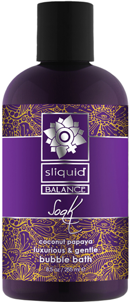 Sliquid Balance Soak Coconut Papaya Badeschaum - 255 ml