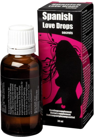 Stimulant sexuel Spanish Love Drops Secrets