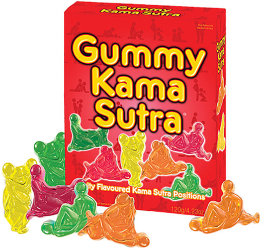 Gummy Kama Sutra sweets in the form of sexual positions