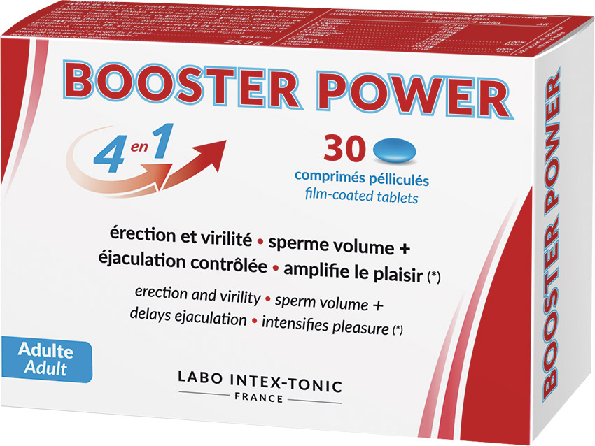 4 in 1 Booster Power 30 sexual stimulant for men (30 capsules)