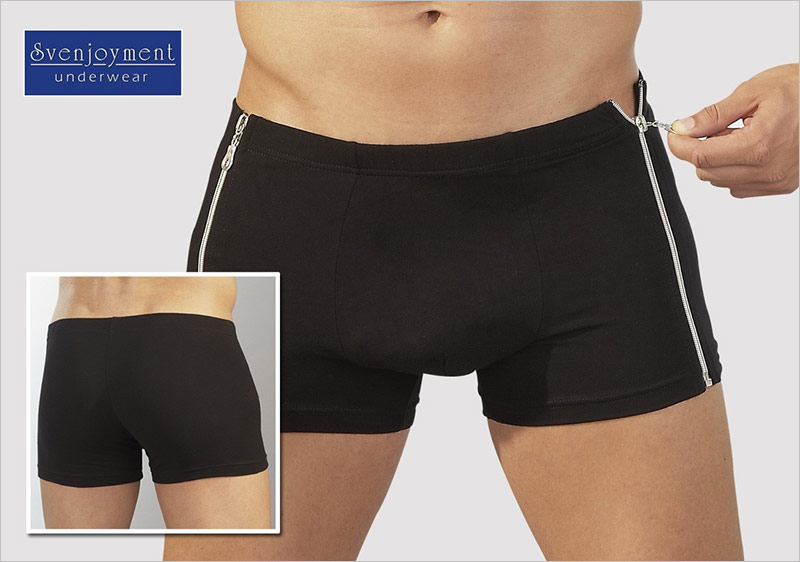 Svenjoyment Boxer Shorts - Pants Zipper (M)