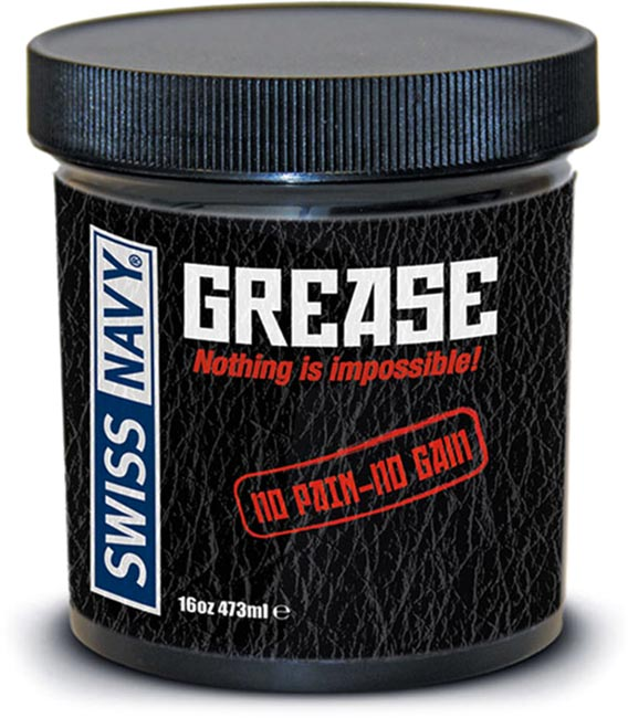 Swiss Navy Grease Lubricant - 473 ml (oil based)