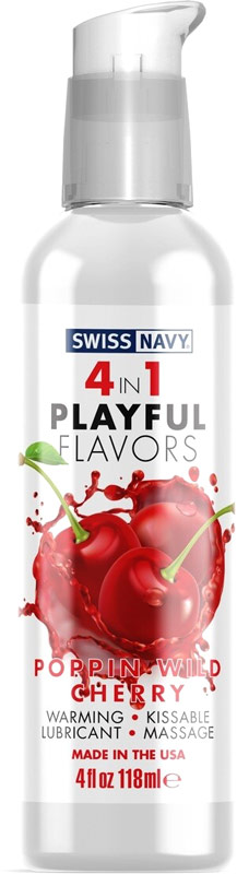 Swiss Navy lubricant - Cherry - 118 ml (water based)