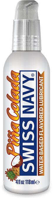Swiss Navy Pi�a Colada Lubricant - 118 ml (water based)