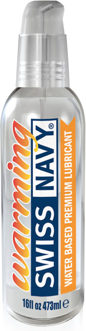 Swiss Navy Warming Lubricant - 118 ml (water based)