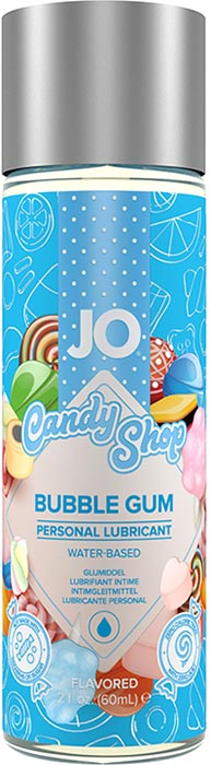 System JO Candy Shop Bubble Gum Gleitmittel - 60 ml (Wasserbasis)