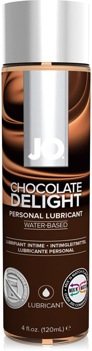 System JO H2O Lubricant - Chocolate - 120 ml (water based)