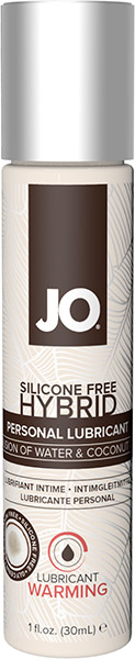 System JO Hybrid Warming Lubricant - 30 ml (water & coconut)