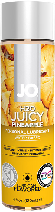 System JO H2O Lubricant - Pineapple - 120 ml (water based)