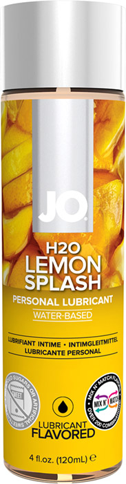 System JO H2O Lubricant - Lemon - 120 ml (water based)