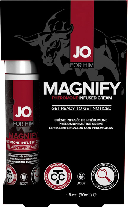 System JO Magnify pheromone attraction cream - 30 ml