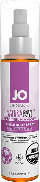 Spray intime féminin System JO Naturalove - 120 ml