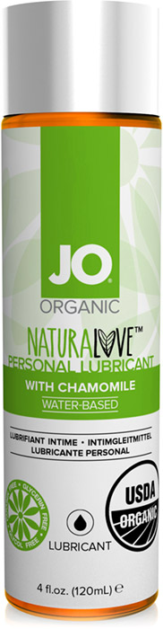 System JO Organic NaturaLove Lubricant - 120 ml (water based)