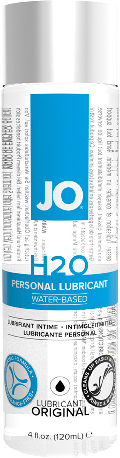 System JO H2O Lubricant - 120 ml (water based)