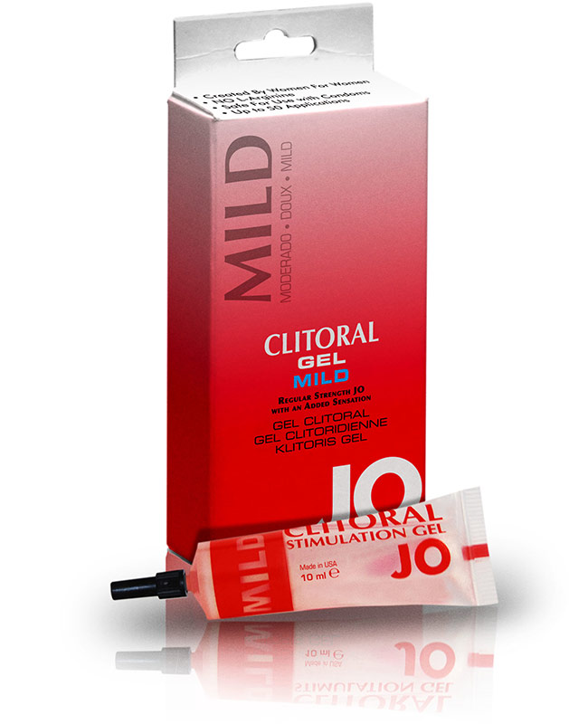 System JO- Clitoral Stimulation Gel - Mild - 10 ml