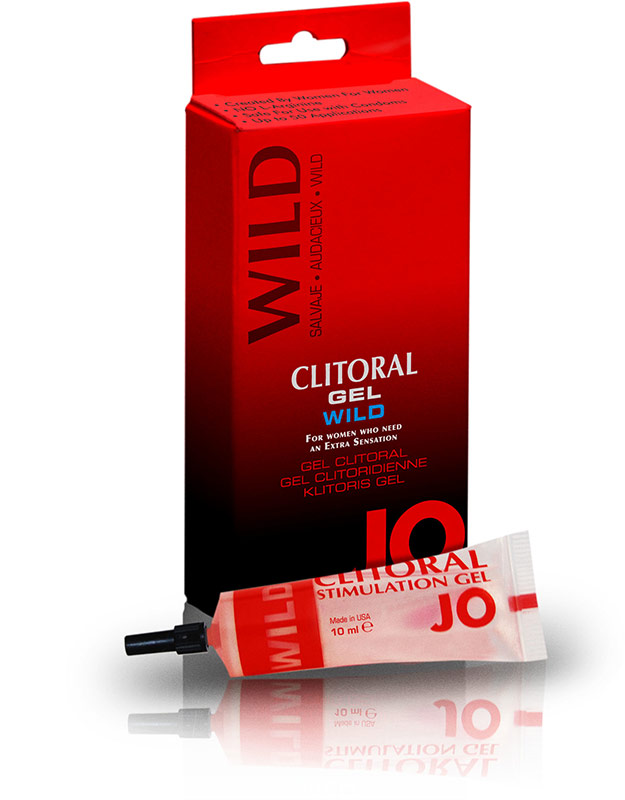 System JO - Klitoris-Stimulationsgel - Wild - 10 ml