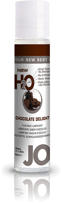 System JO H2O Lubricant - Chocolate - 30 ml (water based)