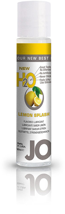 System JO H2O Lubricant - Lemon - 30 ml (water based)